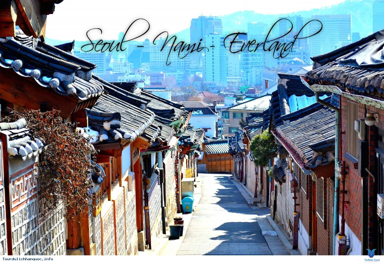 Khám Phá Xứ Sở Kim Chi Hành Trình Seoul – Nami - Everland 2020