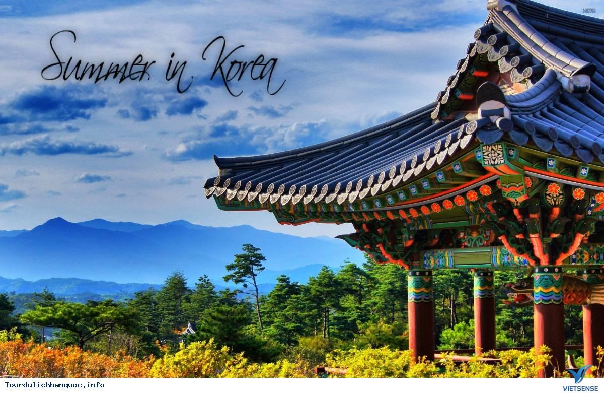 TOUR DU LỊCH HÀN QUỐC MÙA HÈ 2020