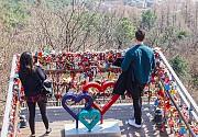 Các cặp đôi Việt tìm đến tháp Namsan để