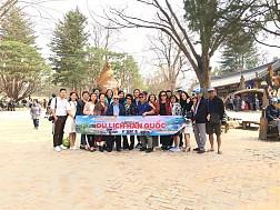 Hình ảnh đoàn Hàn Quốc 30/3-04/04/2018 khởi hành đồng hành cùng Vietsense Travel