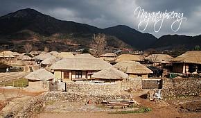 Ngôi Làng Cổ Mang Hình Cây Nấm Hấp Dẫn Du Khách Ở Hàn Quốc