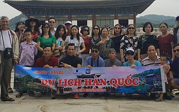 Đoàn Hàn Quốc 5 ngày từ 26/06-30/06/2018 đồng hành cùng Vietsense
