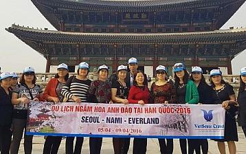 Đồng hành cùng Vietsense Hàn Quốc 5/4-10/4/2016