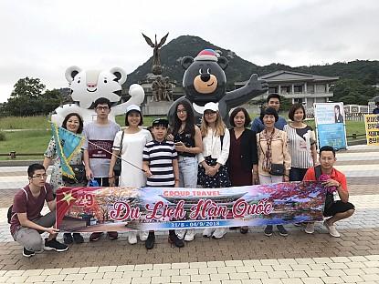 Ảnh đoàn Hàn Quốc Lễ Quốc Khánh 2019 (31/8 - 04/09/2018)