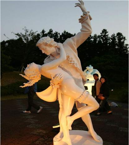 Love Land - Công viên tình yêu độc đáo tại Hàn Quốc