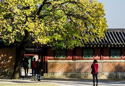 Ngắm Phố Cổ Samcheongdong Mùa Thu Tuyệt Đẹp