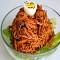 Mì trộn Bibim guksu món ăn Hàn Quốc dễ làm