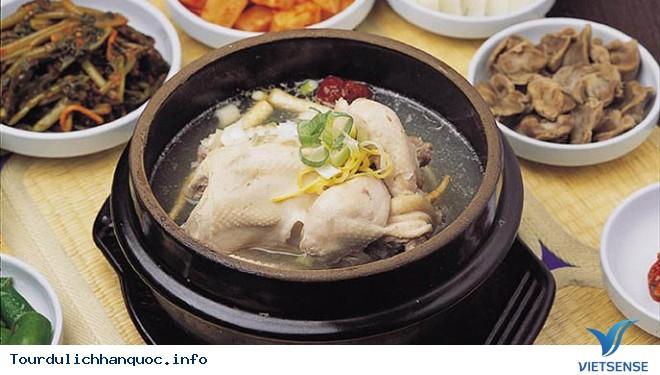 Tới Hàn Quốc Mùa Hè Thưởng Thức Món Gà Hầm Sâm - Ảnh 1
