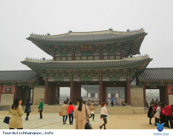 Cung điện Hoàng gia Kyung-bok tráng lệ của Hàn Quốc - Ảnh 5