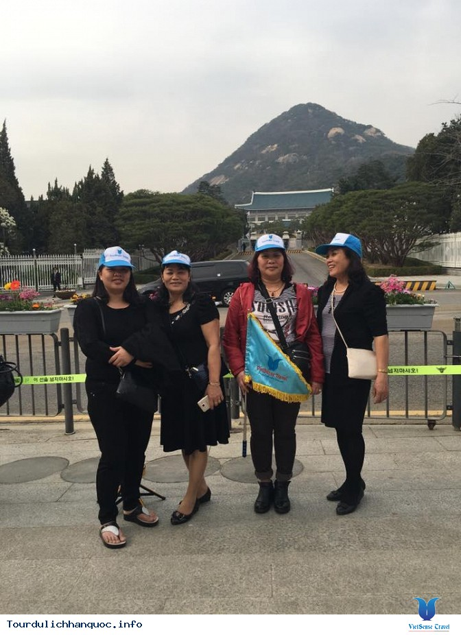 Đoàn khách đi tour du lịch Hàn Quốc: SEOUL - NAMI - EVERLAND 05/04-09/04/2016 - Ảnh 4