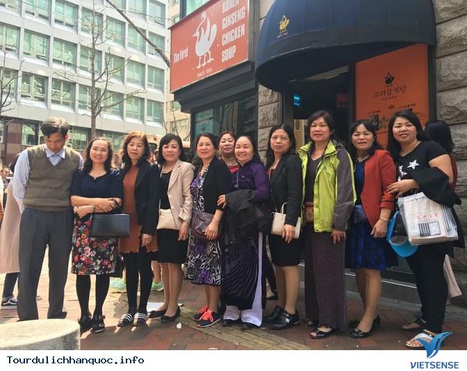 Đoàn khách đi tour du lịch Hàn Quốc: SEOUL - NAMI - EVERLAND 05/04-09/04/2016 - Ảnh 12