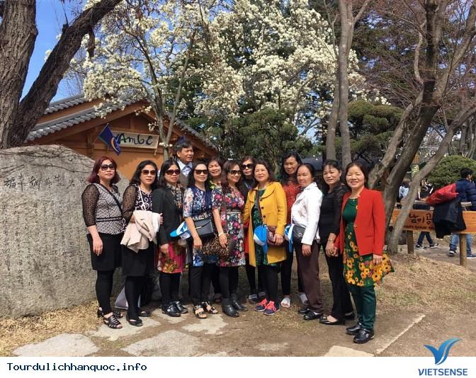 Đoàn khách đi tour du lịch Hàn Quốc: SEOUL - NAMI - EVERLAND 05/04-09/04/2016 - Ảnh 3