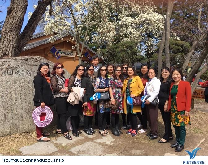 Đoàn khách đi tour du lịch Hàn Quốc: SEOUL - NAMI - EVERLAND 05/04-09/04/2016 - Ảnh 8