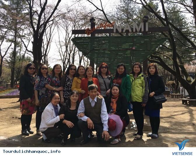 Đoàn khách đi tour du lịch Hàn Quốc: SEOUL - NAMI - EVERLAND 05/04-09/04/2016 - Ảnh 11