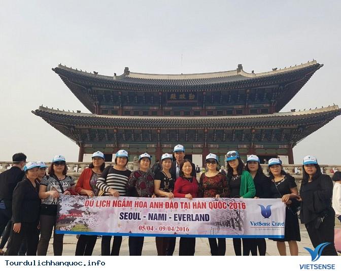 Đoàn khách đi tour du lịch Hàn Quốc: SEOUL - NAMI - EVERLAND 05/04-09/04/2016 - Ảnh 7