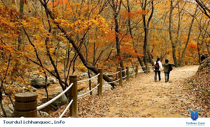 Du lịch Hàn Quốc núi Seorak