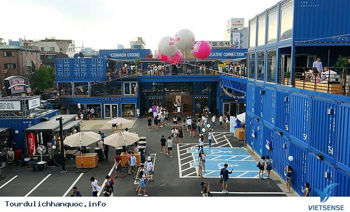 Khu mua sắm, ăn uống và sống ảo container cực chất ở Seoul - Ảnh 1