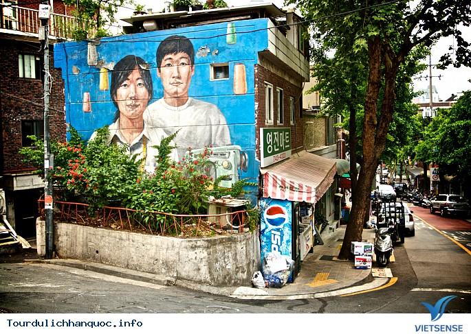 Những ngôi làng bích họa đẹp mê ly ở Hàn Quốc - Ảnh 2