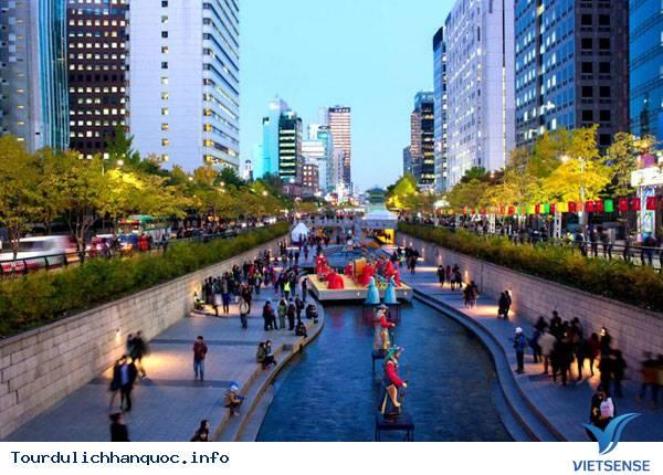 Cheonggyecheon- Con Suối Giữa Lòng Seoul - Ảnh 2