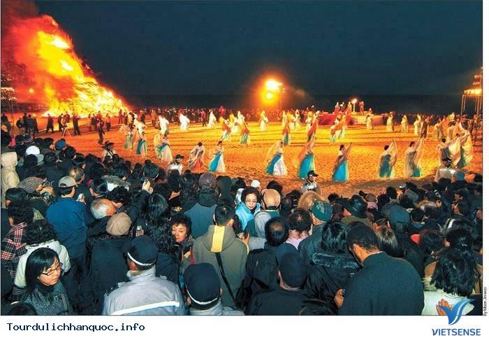 Hòa cùng sức nóng của Lễ hội Lửa Jeju - Ảnh 7