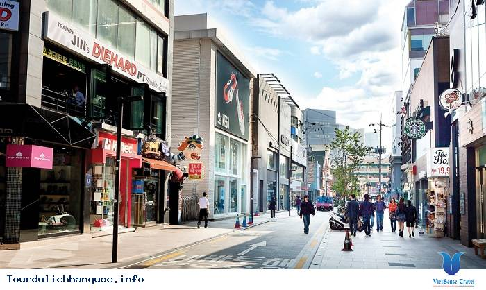 Tận hưởng dạo chơi tại Apgujeong-dong - khu trung tâm giải trí và thương mại