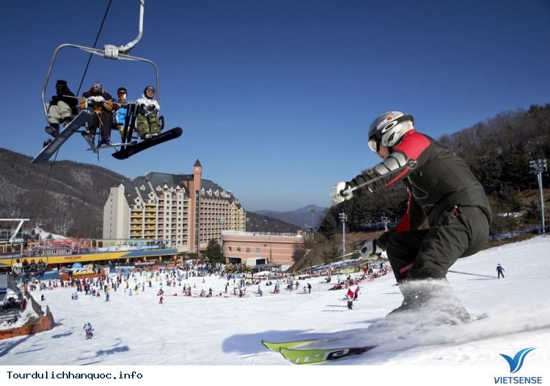 Trượt tuyết được xem là môn thể thao quốc dân của xứ Hàn - Ảnh 2