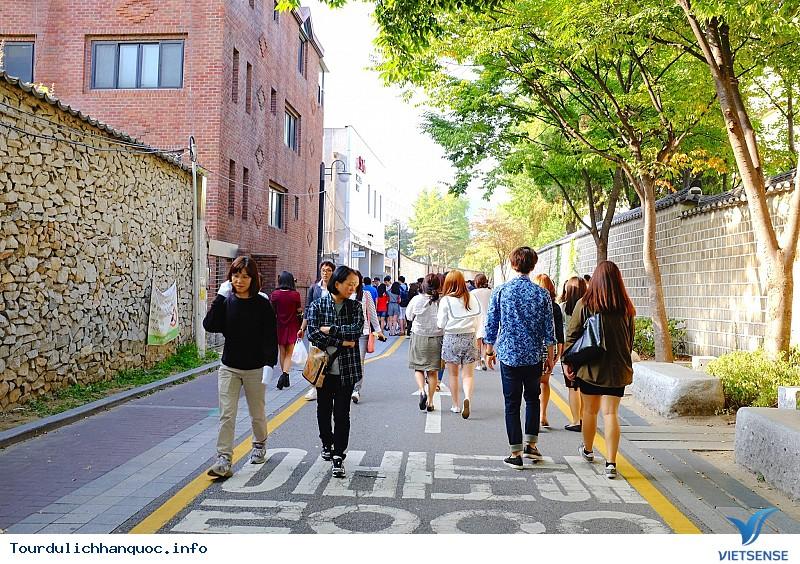 Ngắm Phố Cổ Samcheongdong Mùa Thu Tuyệt Đẹp - Ảnh 2