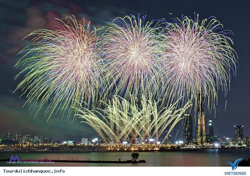 Những điểm cần lưu ý trong lễ hội pháo hoa quốc tế Seoul - Ảnh 1