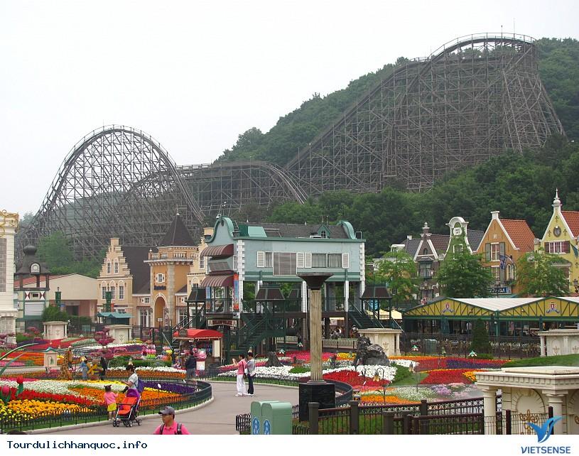 Công viên Everland - Hàn Quốc cho bạn trải nghiệm vòng quanh thế giới - Ảnh 2