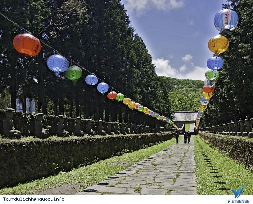 Đảo Jeju Hàn Quốc nổi tiếng với hai địa điểm tuyệt đẹp - Ảnh 1