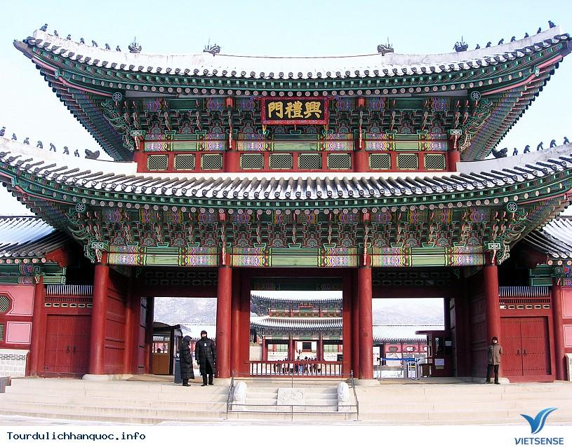 Quảng Trường Gwanghwamun rộng lớn và nổi tiếng của Hàn Quốc - Ảnh 1
