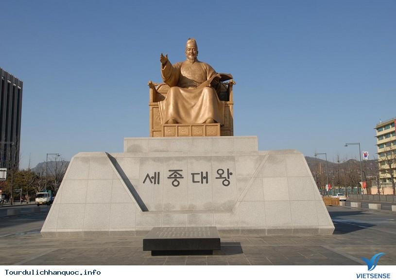 Quảng Trường Gwanghwamun rộng lớn và nổi tiếng của Hàn Quốc - Ảnh 4