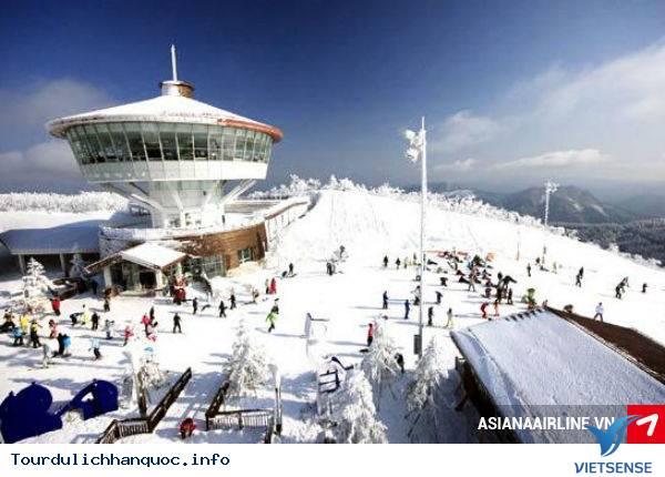 khu trượt tuyết Elysian Gangchon