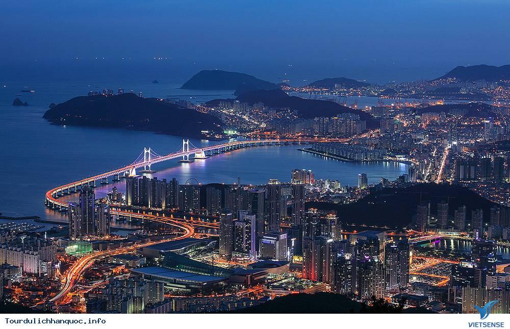 Cầu treo Gwangan Hàn Quốc - Ảnh 3