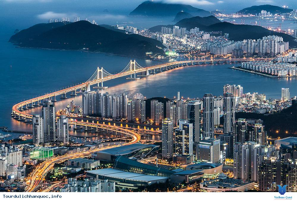 Cầu treo Gwangan Hàn Quốc - Ảnh 1