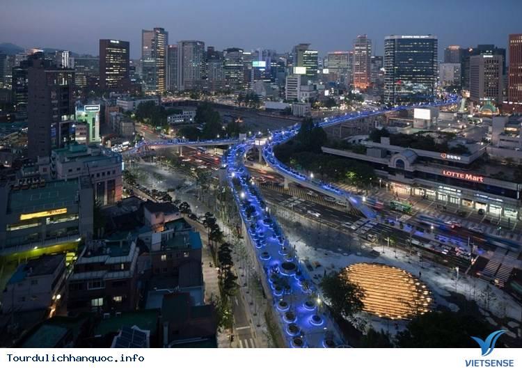 Chiêm ngưỡng khu vườn tuyệt đẹp trên cầu vượt Seoul ở Hàn Quốc - Ảnh 7