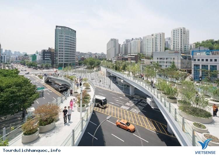 Chiêm ngưỡng khu vườn tuyệt đẹp trên cầu vượt Seoul ở Hàn Quốc - Ảnh 6
