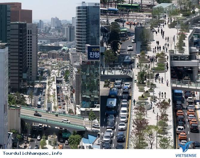 Chiêm ngưỡng khu vườn tuyệt đẹp trên cầu vượt Seoul ở Hàn Quốc - Ảnh 4