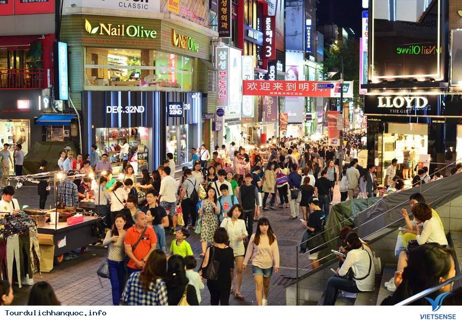 Chợ đêm Seoul sầm uất đầy náo nhiệt - Ảnh 4