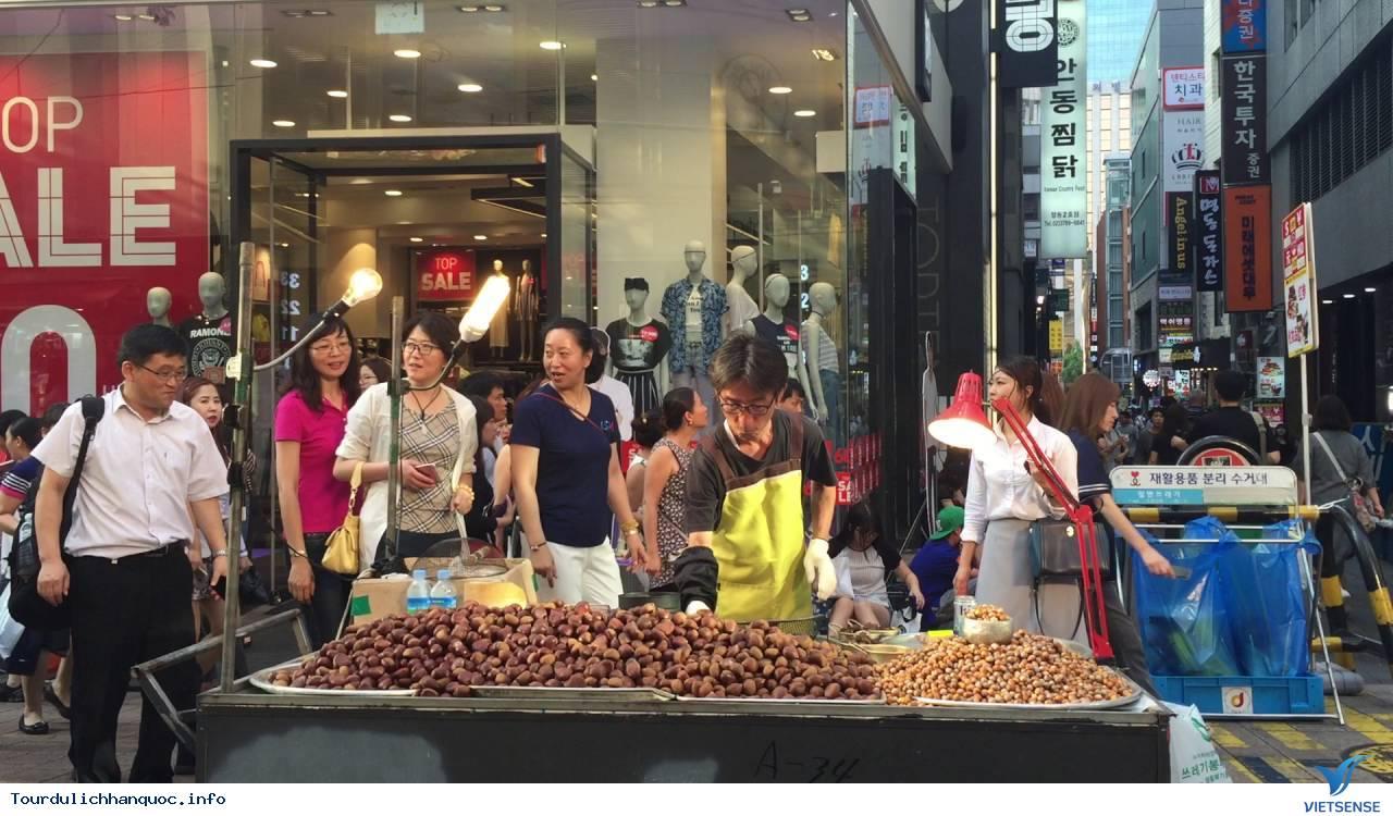 Chợ đêm Seoul sầm uất đầy náo nhiệt - Ảnh 5