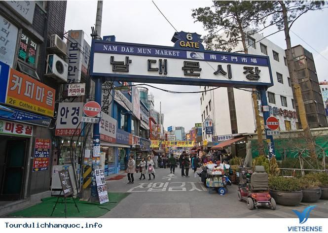 Khám Phá Chợ Namdaemun Hàn Quốc