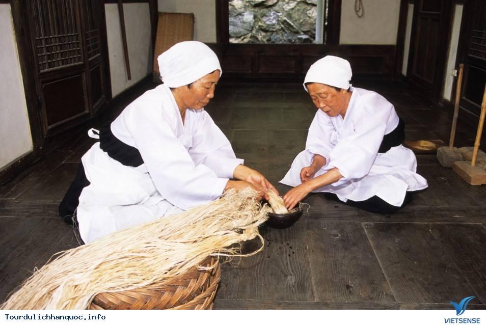 Đến thăm Hansan - tìm hiểu bộ môn dệt vải đan áo Mosi - Ảnh 3