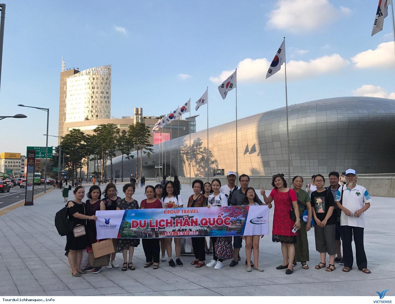 Đoàn khách tham quan Hàn Quốc ngày 14/7-18/7/2018 - Ảnh 2