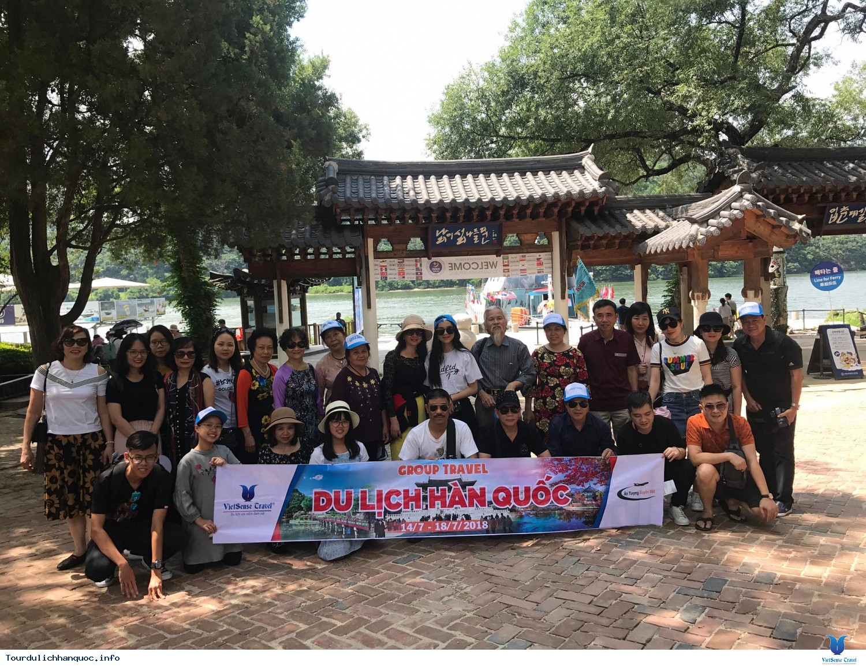 Đoàn khách tham quan Hàn Quốc ngày 14/7-18/7/2018 - Ảnh 4