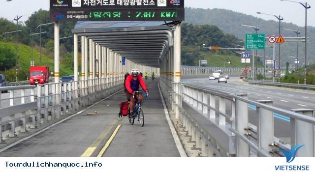 Độc đáo với con đường mặt trời tại Hàn Quốc. - Ảnh 2