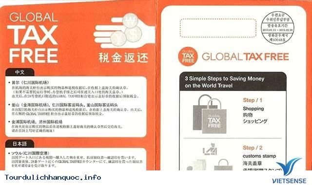 Miễn thuế kích cầu du lịch Hàn Quốc
