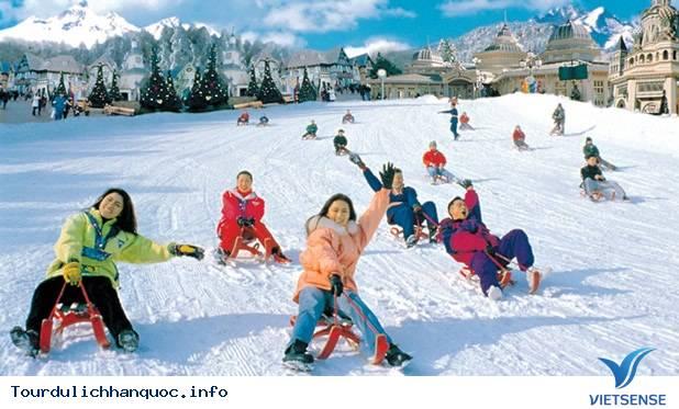 Du lịch vào mùa đông trên đất nước Hàn Quốc - Ảnh 4