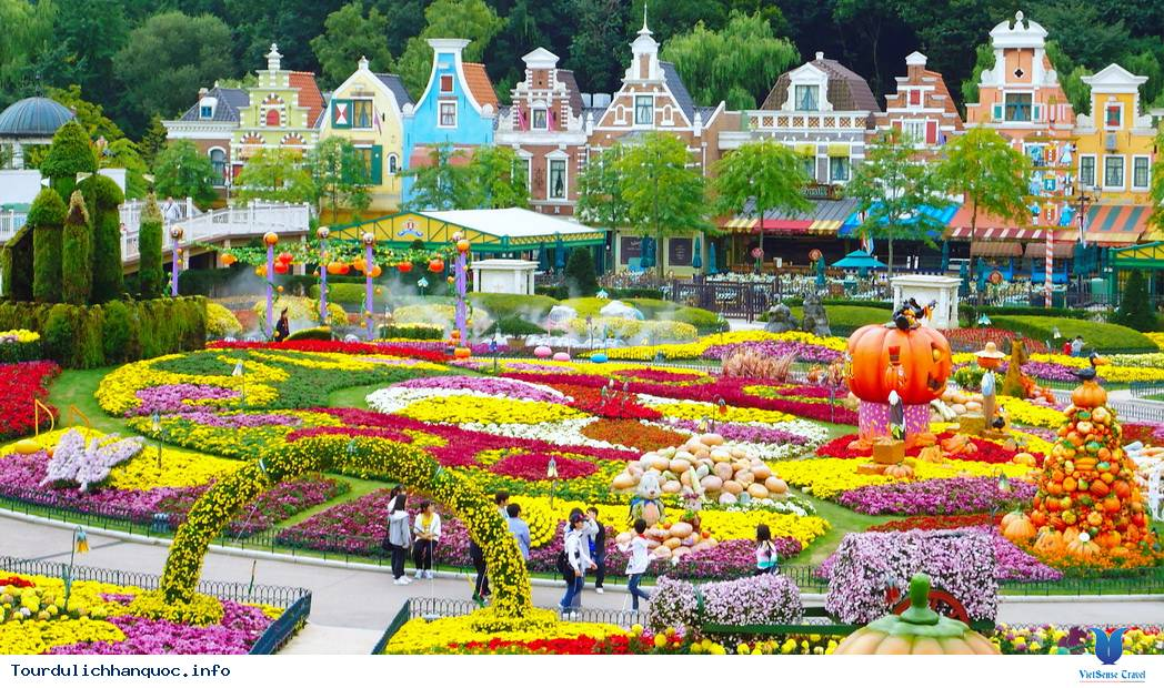 Everland - Công viên giải trí lớn nhất Hàn Quốc - Ảnh 1