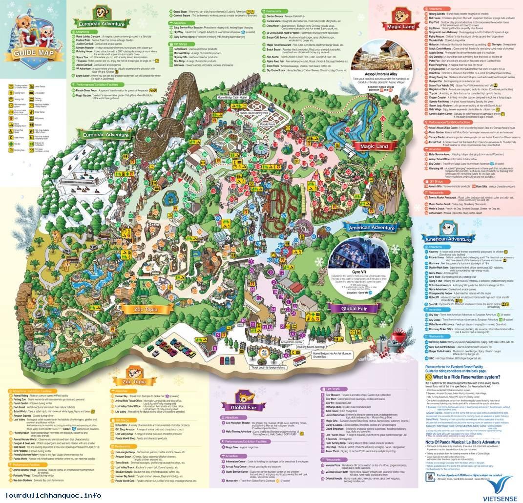 Everland - Công viên giải trí lớn nhất Hàn Quốc - Ảnh 6