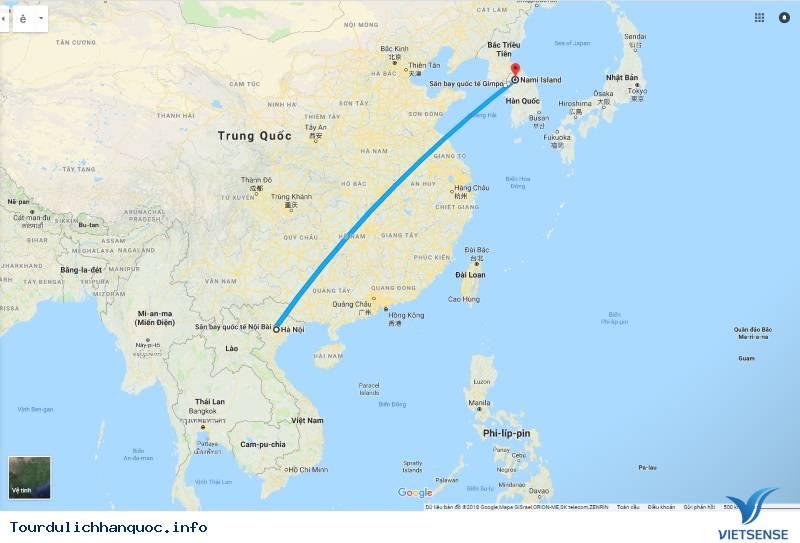 Giới Thiệu Du Lịch Đảo Nami Hàn Quốc - Ảnh 1
